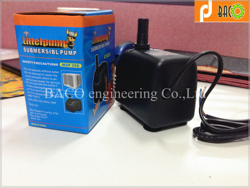 Submersible water fountain pump/water pump fish pond/submersible pond pumps