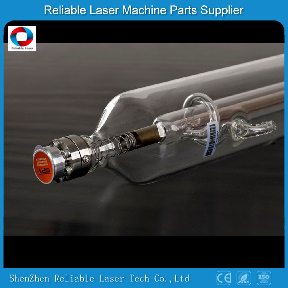 Most good feedback co2 laser tube 80W 1600mm 60mmdia SPT C80 for co2 laser non-metal materials cutting and engraving machine