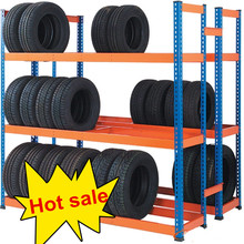Hot sale warehouse storage rack used tire tyre racking
