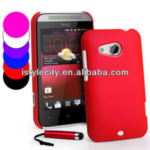 Hybrid Hard Case Cover For HTC Desire 200
