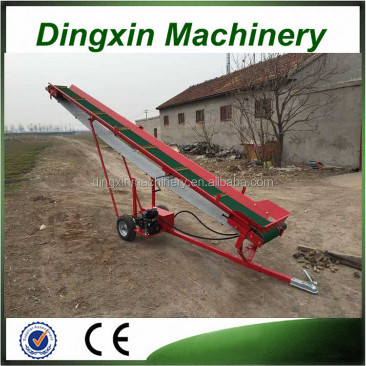 Firewood cutter 10 ton pvc conveyor belt for sale