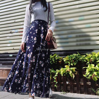 New Women Fashion Printed Florals Elegant