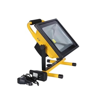 Best Price 6000k 50w rechargeable solar led flood light for outdoor with factory