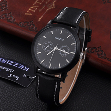 Decoration Wares Vogue Watches Mens Leather Watch with Japanese Movement
