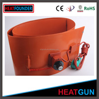 FLEXIBLE AND WATERPROOF HEATING PAD SILICONE RUBBER HEATER