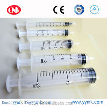 2014 hot sale Sterile Disposable Syringes without needle 50cc 60c