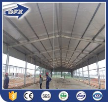 light steel structure metal industrial shed building