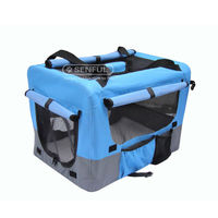 Portable Travel Soft Pet Crate Dog Cage Carrier