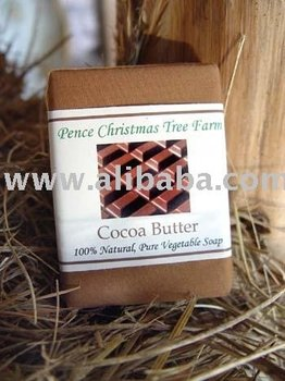 Cocoa Butter 100% All Natural Vegetable Soap Bar