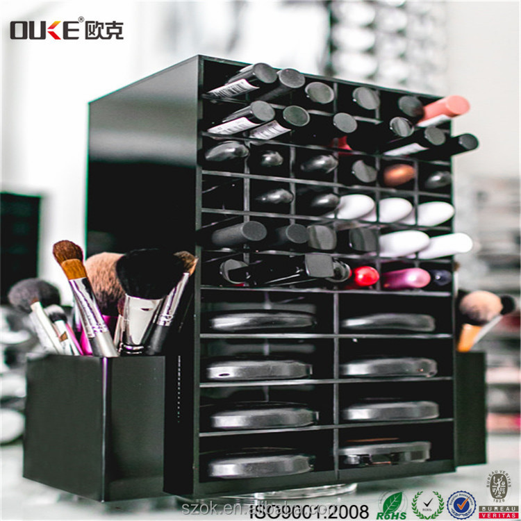 High quality professional manufacturers acrylic cosmetic makeup organizers