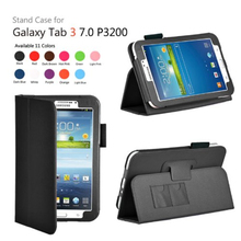 Slim Fit Leather Case Cover for Samsung Galaxy Tab 3 7.0 inch
