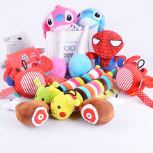 6in Plush Squeak Toy Mini pet toys for dog