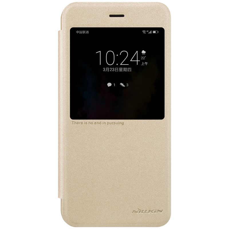 Nillkin High Quality Super Thin New Leather Flip Cover for Huawei Honor V9 phone case