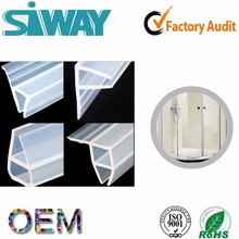 OEM epdm glass shower door plastic rubber bathtub sealing strip rubber seal strip for bathroom