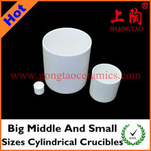 Big Middle And Small Size Cylindrical Crucibles