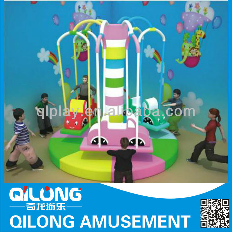 Indoor Playground Kids Welcomed Electric Soft Rider