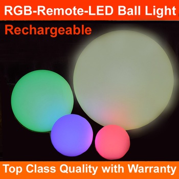 2017 Wholesale new launch floating pool led light led ball light waterproof IP67 rgb 16 colors 60CM top seller in Euro-market