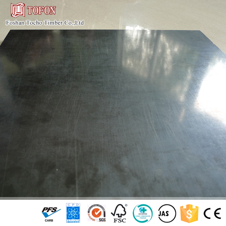 12Mm Thick Small Deformation Black Film Faced Plywood With Price