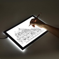 Led graphic tablets writing light pad 19""
