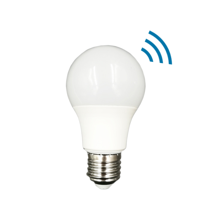 Energy Saving Micro Motion Sensor <strong>Bulb</strong> Light A60 Led Smart Light LUX Sensor Light <strong>Bulb</strong>