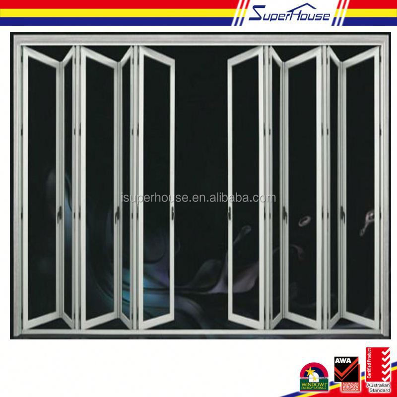 Supply good quality with low price as2047 standard accordion door track for large projects