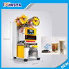 new launched products automatic plastic cup sealing machine, electric cup sealer