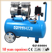 24L 600WGood quality silent type oil free air compressor Manufacturer for spray painting