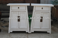 hot sale antique wooden furniture one drawer two door cabinet