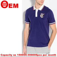 Custom Adults mens polo shirt in China polo sport t-shirt design on sale