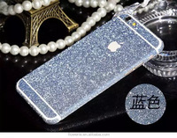 FL3740 Deluxe Diamond Sparkling Body Bling Glitter Sticker Skin Film Case For iphone 6 Plus 5.5