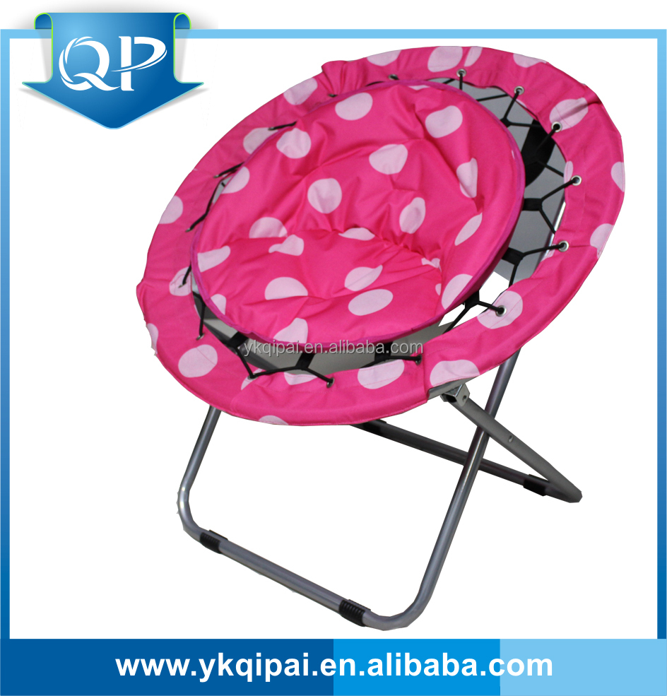 portable cheap folding moon chair