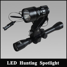 NFG-LA-10 rifle mounted spotlight mini hunting searchlight torches for shotgun