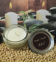 4 oz Handmade Natural Soy Wax Candle