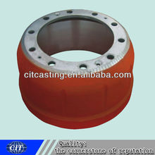 auto iron resin sand casting wheel hub brake drum for auto spare part