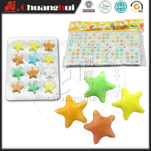 Hot Sale 2.1g Dextrose 12 Units Pressed Star Candy