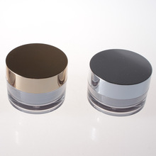 Empty acrylic cosmetics luxury 50ml face cream jars