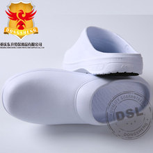White Men Rubber Outsole antislip medical-grade surgical shoes for recovery