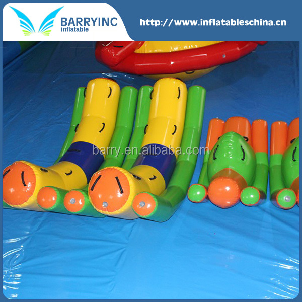 New Product Single Tube Inflatable Water Seesaw With CE Certificate