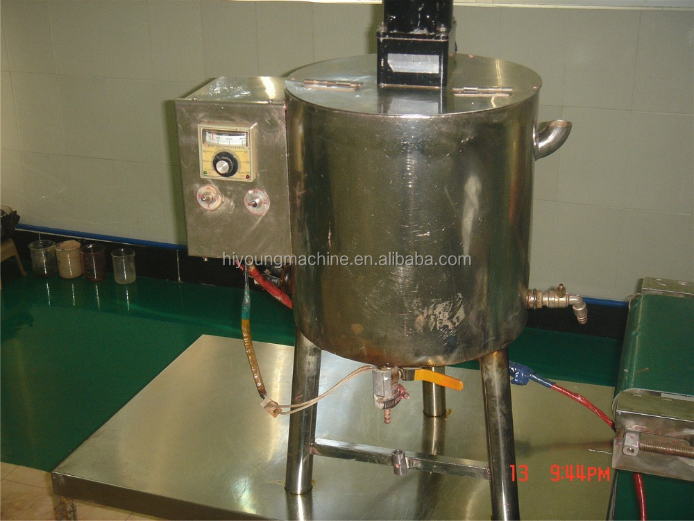 Small lipstick filling machine, with heating system paste filling machine, cosmetic cream filling machine