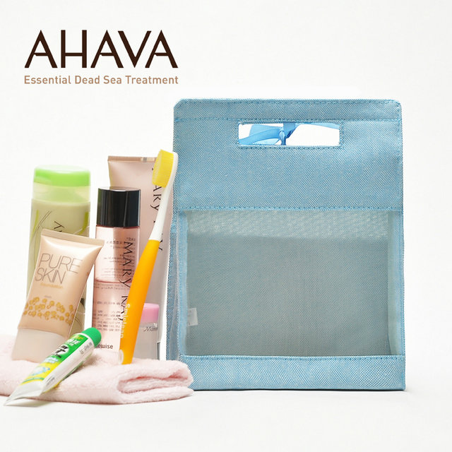 canvas cosmetic bag for promotional