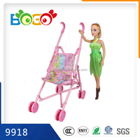 2015 New Product Plastic Cheap Barbie Baby Lovely Doll for Children Girls