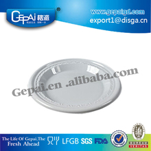 cheap wholesale plastic disposable plate for weddings