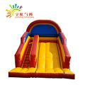 OEM customized PVC inflatable slide with Air blower and repair kits