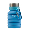 SKY BLUE Collapsible Silicone  Water Bottle