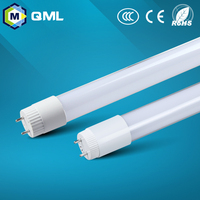 factory price china manucfacture led glass t8 tube led tube t8 85-265v
