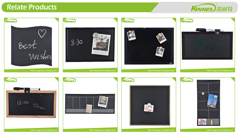 MDF board backing wholesale wall mounted cafe blackboard