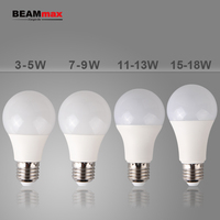 New product A60 12w led light bulb e27 1200lm 3W/5W/7W/9W/12W/18W LED Bulb Light