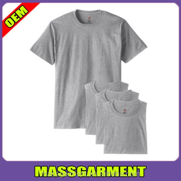 MS-1745 Summer Pure Color 100% Combed Cotton Slim Fit T Shirts Cheap Wholesale
