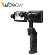 Best price Wewow wholesale compatible handheld gimbal stabilizer for gopros camera&cellphone