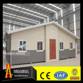 Certificate fireproof low cost and high quilty folding light steel container villa for sale